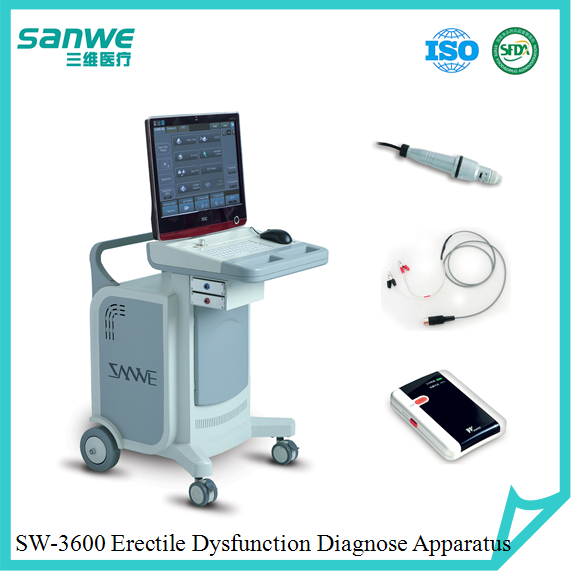 physiology equipment, medical diagnostic software, premature ejaculation diagnostic machine