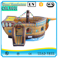 2016 (Qi Ling) attracting fun land with pirate ship