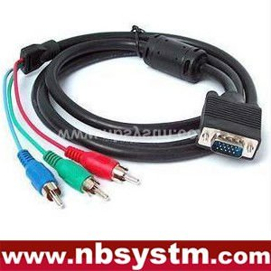 vga rca PC Computer VGA to TV S-Video RCA AV 3 Adapter Cable S4 alibaba china supplier