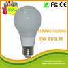 free shipping by DHL UPS 9W hot selling E27 led bulb for 2015