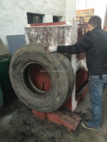 RUBBER RECYCLING EQUIPMENT / CAR TRUCK TYRE MAKING MACHINE