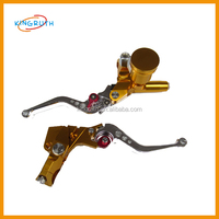 Dirt bike pit bike good performance universal cnc clutch brake levers