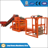 small production line QTJ4-26C cement brick making machines concrete block making machine price in india for sale