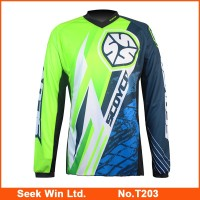 Hot Selling OEM Motorbike Moto Race Wear Durable Motorcycle Motocross Jersey Breathable Motorbike Racing Suit