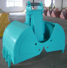 PC200 excavator spares heavy duty clamshell bucket dredging for sale