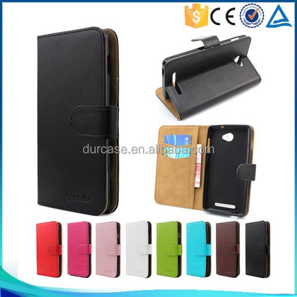 Leather Phone Case For K-Touch W98,Flip Wallet Phone Cover for K-Touch W98