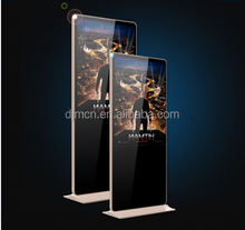"65"" floor stand digital signage player, floor standing advertising display with Android"