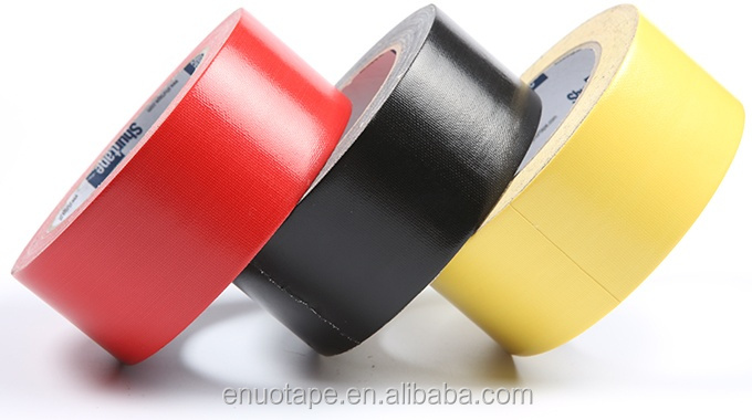 Strong Holding Power Pipe Wrapping Carpet Joint Heavy Duty Packing Colored Cloth Tape