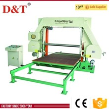 factory price mattress rebond foam cutting machine