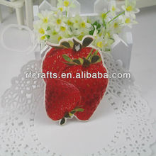 Fruit car fresher customized hanging paper air car freshener