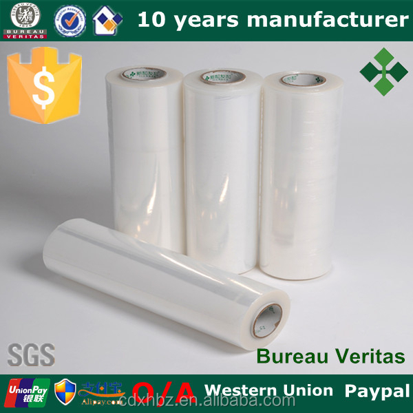 Flexible Packaging Plastic Clear LLDPE Stretch Film Wrapping