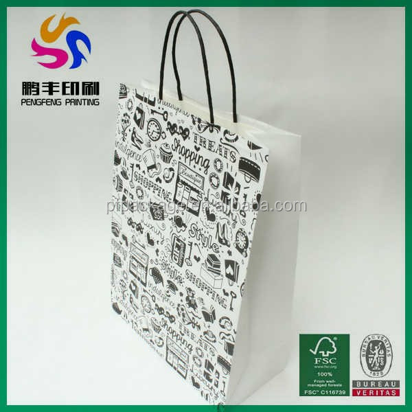 Hot sale customized paper bags wholesale india