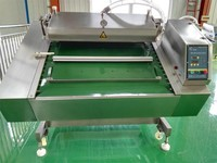 food packaging machinery/luncheon meat vacuum packing machine/high capacity pearls vacuum package machine