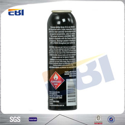 Empty cheap 450ml iso9001 aerosol spray paint