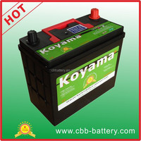45Ah 12VMaintenance free Car Battery auto battery NS60-MF