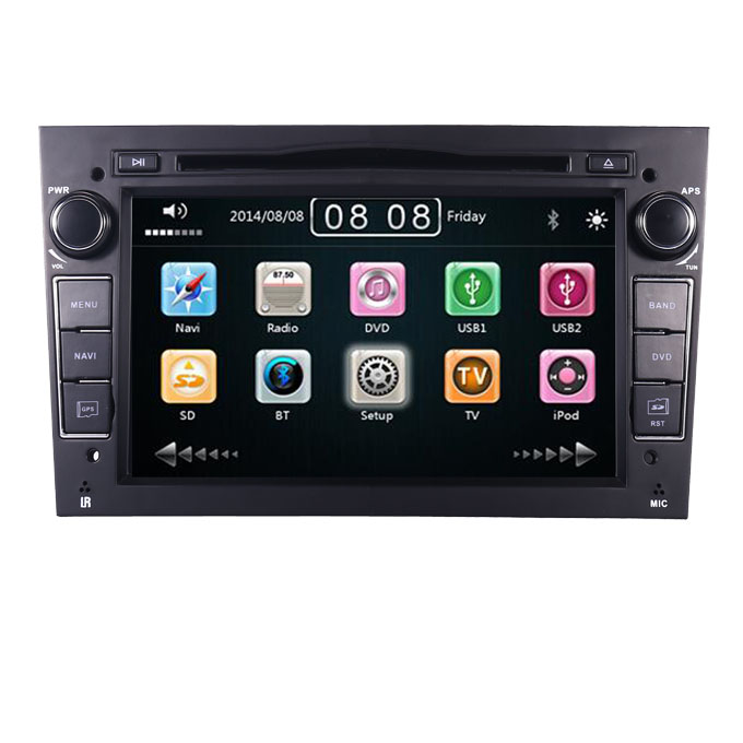 "7""HD Touch Screen car dvd player for Opel astra Zafira Corsa With 3G GPS Navigation radio stereo Bluetooth Steering wheel RDS FM"