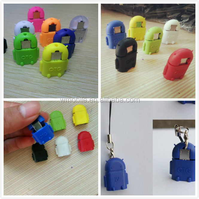 wholesale robot otg otg usb flash drive