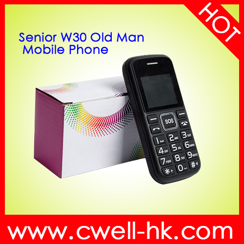 Senior W30 Low Price Old Man Mobile Phone with Big Battery Long Standby cheap cell phone