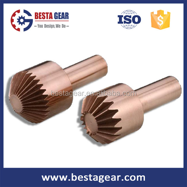 small mini brass conical gears for reducer