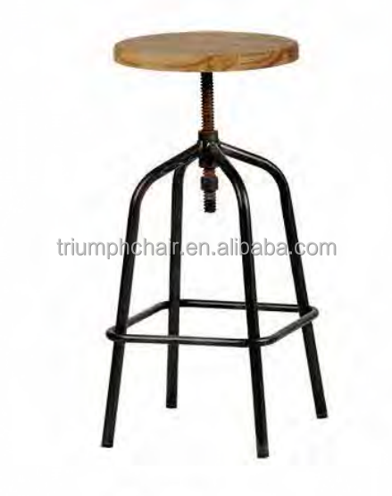 Height adjustable bar stool for sale