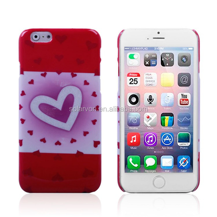 China Suppliers Plastic Hard Case For iPhone 6