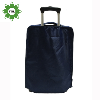 Eco-friendly Fabric Custom Luggage Cover waterproof Recyclable Luggage Cover