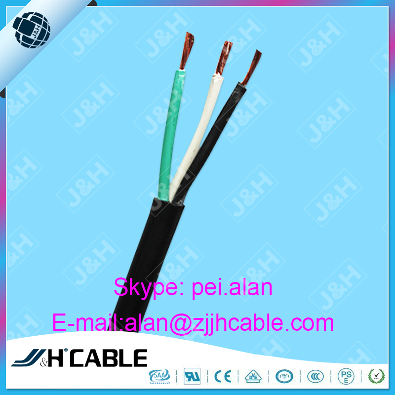 UL Approved SJ/SJO/SJOW/SJOO /SJOOW Rubber Cable