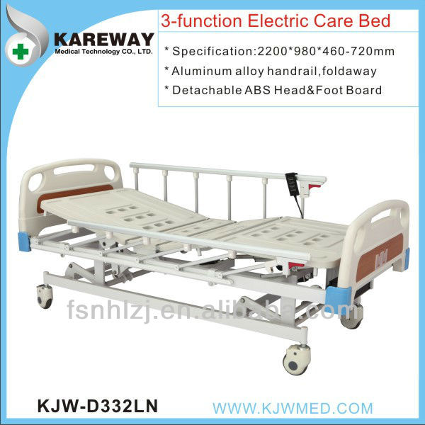 Foshan medical equipment trading companies 3 functions bed