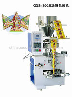 Small peanuts/milk beans/melon seeds triangle bag packing machine