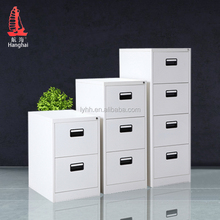 white half height knock down storage 4 drawer file cabinet legal size