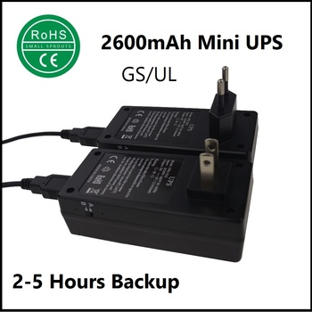 mini router ups with 3 to 6 hour backup time mini ups with battery backup