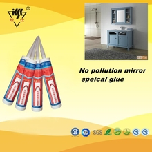 Top Quality No Pollution Transparent Mirror 100% Silicone Sealant