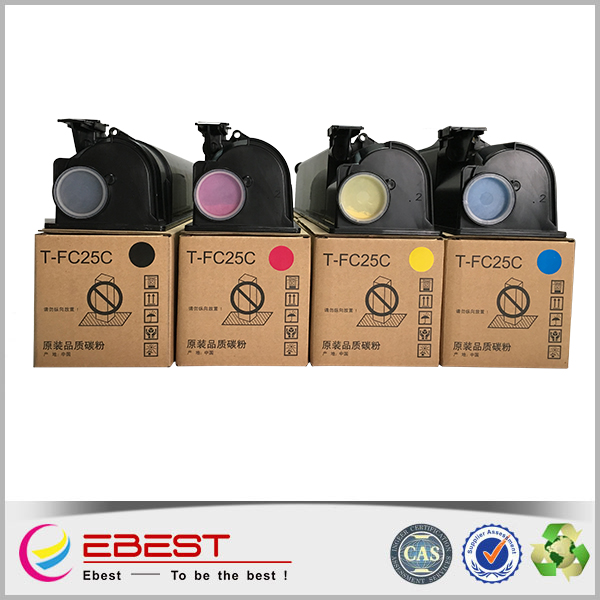 Ebest FC25 Black and Full Cartridge's Status compatible for Toshiba copier toner cartridge