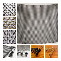 high temperature resistant black color fireplace mesh