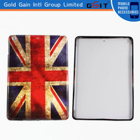 Top Gel Plastic Printed Back Soft TPU Case For Ipad Air