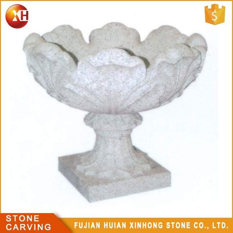 Wholesale Decorative Large Stone Chinese Garden Pot