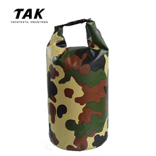 Camo Waterproof High Quality Promotional Folding DIY Camouflage Dry Bag