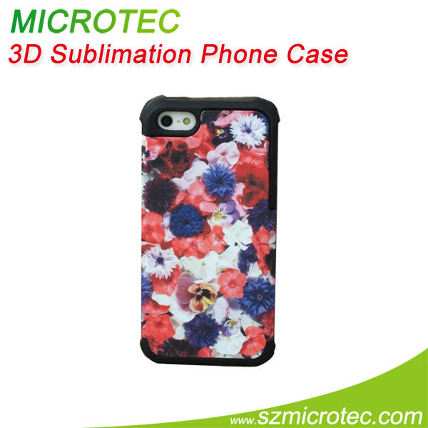 sublimation cases for iphone5 protective cover