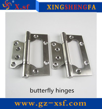 Stainless steel door hinges butterfly hinges