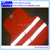 Promotional cheap approved reflective safety vest