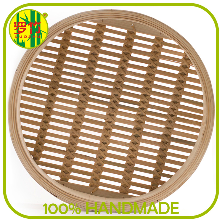 Individual Layer and Cover of Bamboo Steamer Basket for Dim Sum