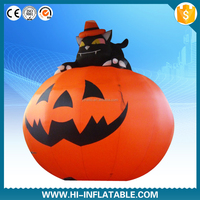 Hot Sale Outdoor & Yard Decoration Inflatable Halloween Products,Halloween inflatable pumpkins