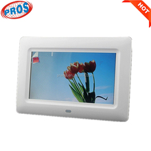 7 inch Multi functions video display lcd funia photo picture frames