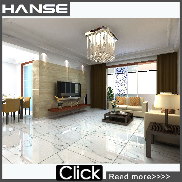 HS608GN interior modern office silk road series porcelain off white floor tiles
