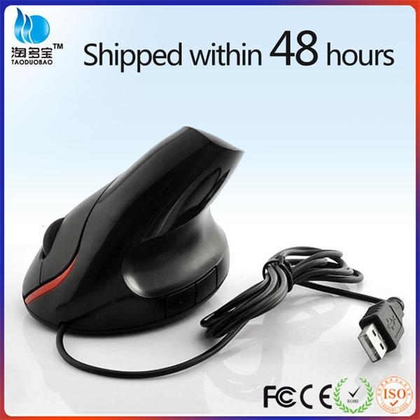 Wired Optical big hand 5D ergonomic for laptop pc high quality big hand vertical mouse