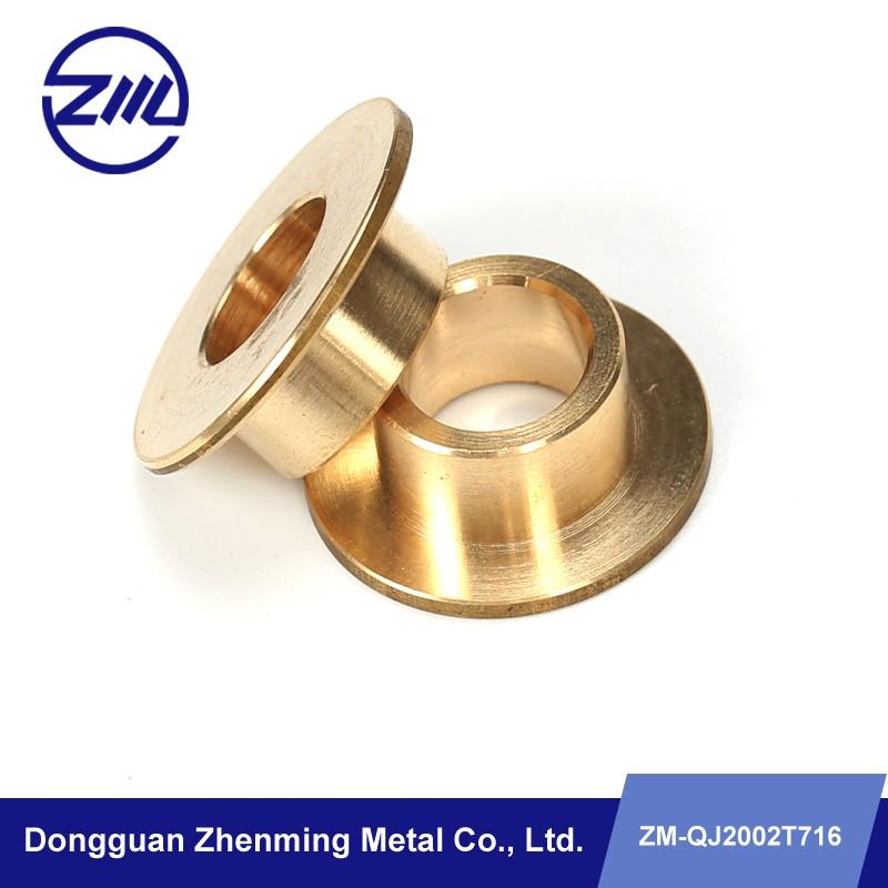 Dongguan Manufacture Custom Copper Flange , Floor Flange Metal Part