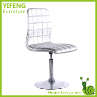 Hot!! 2014 Cheap Durable Used White Leather Bar Chairs