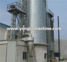 Reasonable price flat bottom galvanization small grain silo