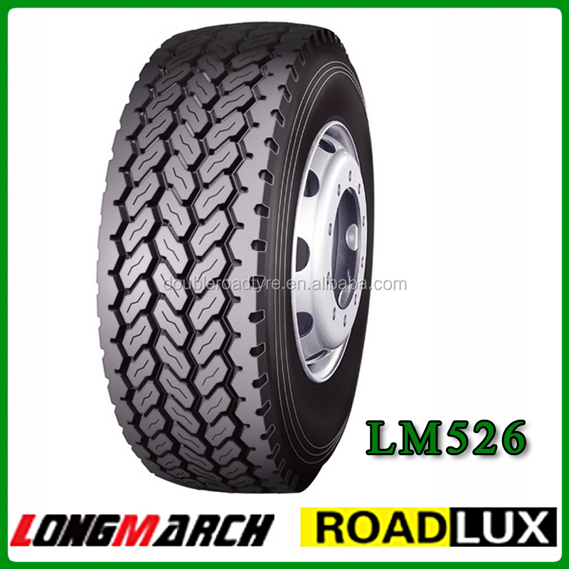 longmarch all steel semi tubeless 425/65-22.5 radial truck tire