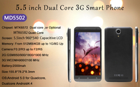5.5inch MD5502 quad Core 3G android smart Mobile phone unlocked